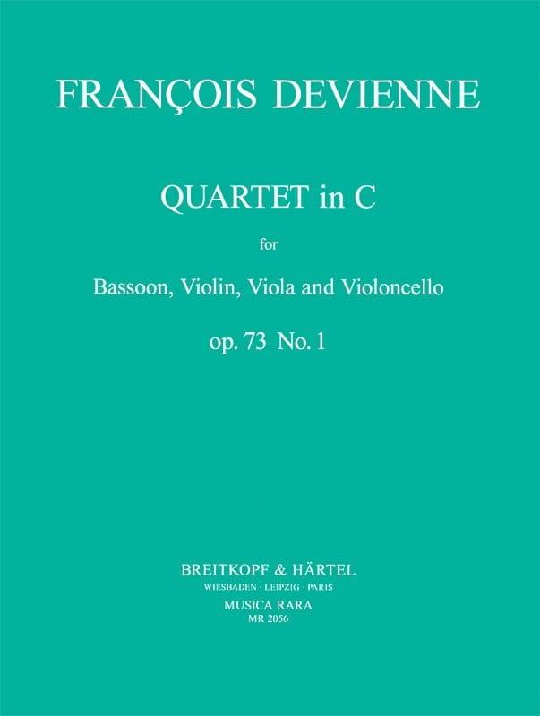 Quartet In C Maj. Op. 73 N° 1 - DEVIENNE - laflutedepan.com