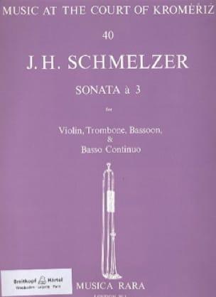 Sonata a 3 -Violin trombone bassoon BC - laflutedepan.com