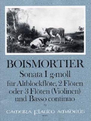 Sonata Nr. 1 op 34 g-moll -Altblockflöte 2 Flöten u. BC - laflutedepan.com