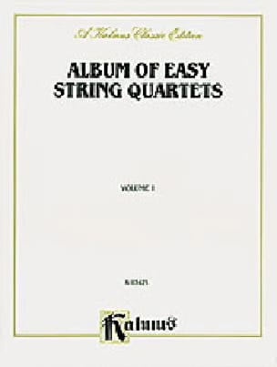 Album of easy String Quartets, Volume 1 - laflutedepan.com