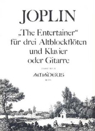 The Entertainer -3 Altblockflöten Klavier o. Gitarre - laflutedepan.com