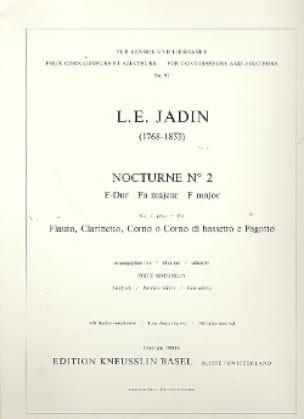 Nocturne N° 2 F-Dur -Flauto clarinetto corno fagotto - laflutedepan.com