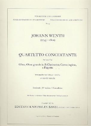 Quartetto concertante Oboe clarinetto corno inglese fagotto - laflutedepan.com