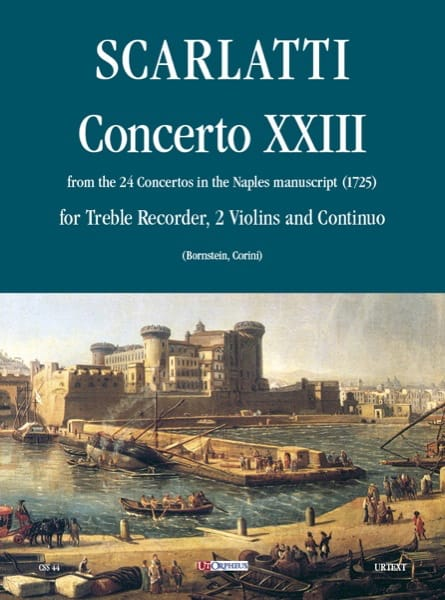 Concerto 23 -Flauto 2 violoni e bc - laflutedepan.com