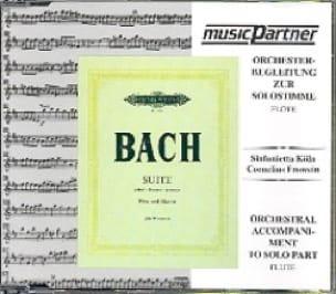 CD - Suite En Si Min. - Flûte - BACH - Partition - laflutedepan.com