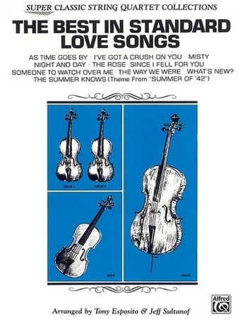 The Best in Standard Love Songs - String Quartet - laflutedepan.com