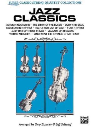 Jazz Classics - String Quartet - laflutedepan.com