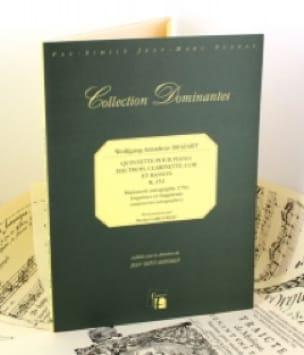 Quintette KV 452 - Piano, hautbois, clarinette, cor, basson - laflutedepan.com