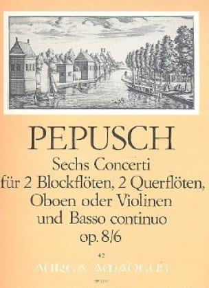 6 Concerti op. 8 : Nr. 6 -2 Blockflöten 2 Flöten u. BC - laflutedepan.com