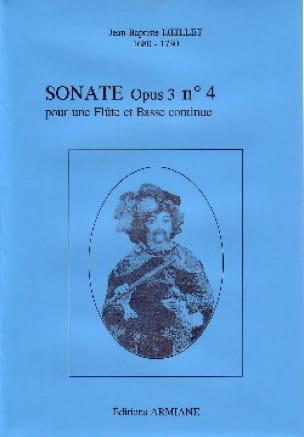 Sonate Opus 3 N° 4 - LOEILLET - Partition - laflutedepan.com