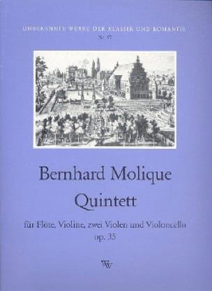 Quintet op. 35 - Flöten Violine 2 Violen Violoncello - laflutedepan.com