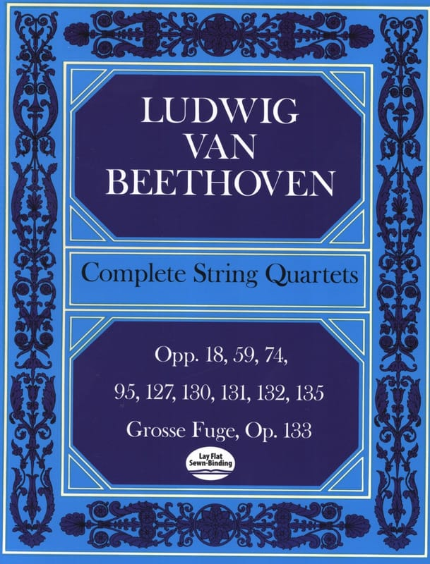 BEETHOVEN - Complete String Quartets - Conductor - Partition - di-arezzo.co.uk