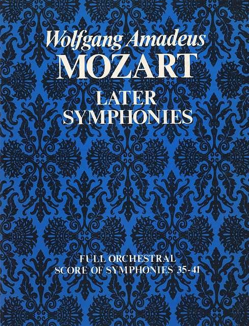 Later Symphonies N° 35-41 - Full Score - Conducteur - laflutedepan.com