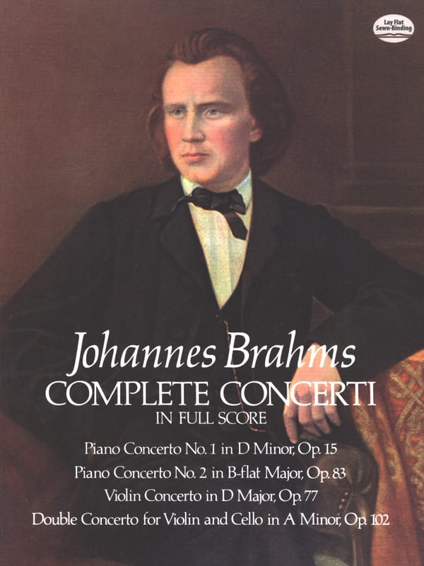 BRAHMS - Complete Concerti - Full Score - Partition - di-arezzo.co.uk