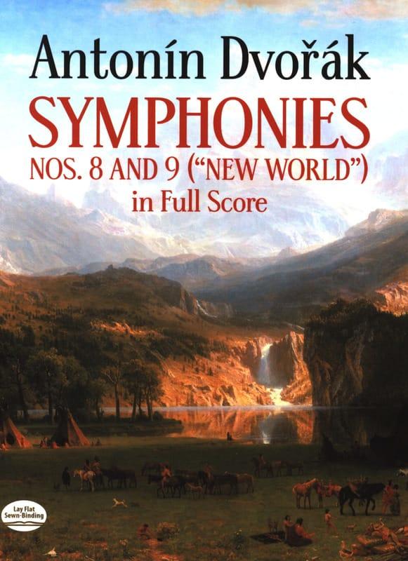 Symphonies N° 8 et 9 - Full Score - DVORAK - laflutedepan.com