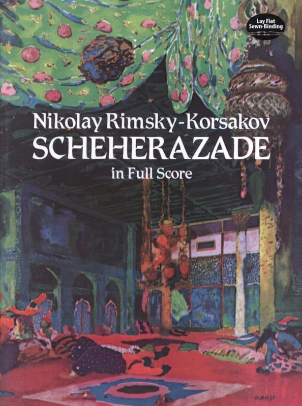 Sheherazade - Full Score - RIMSKY-KORSAKOV - laflutedepan.com