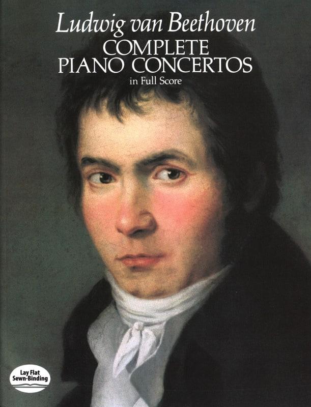 Complete Piano Concertos - Full Score - BEETHOVEN - laflutedepan.com