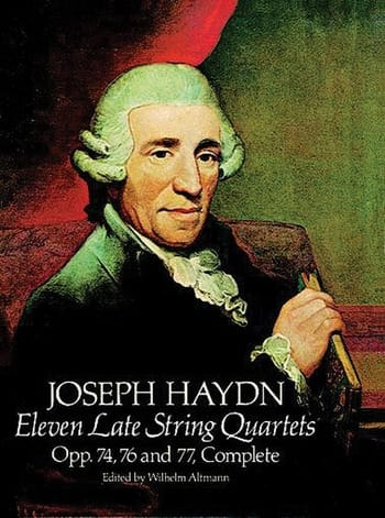 HAYDN - 11 Late String Quartets, Op. 74, 76, 77 - Partition - di-arezzo.co.uk