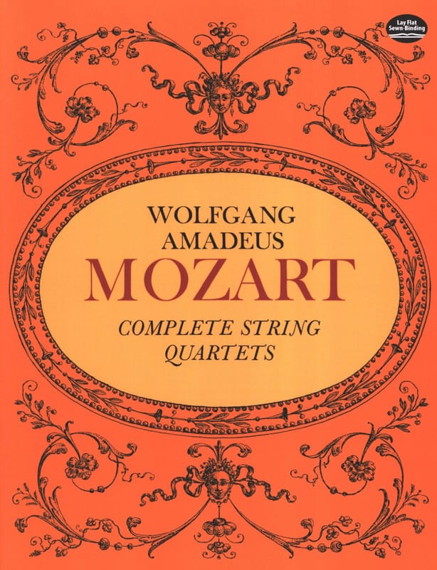 MOZART - Complete String Quartets - Full Score - Partition - di-arezzo.co.uk