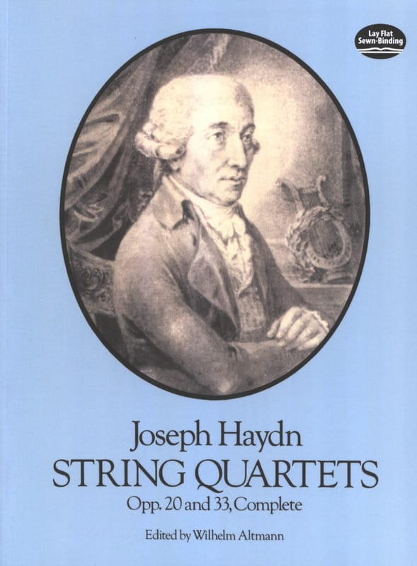 HAYDN - String Quartets Op. 20 and 33 - Partition - di-arezzo.co.uk
