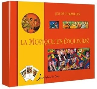 Jeu - Music in Colors - Game of 7 families - Accessoire - di-arezzo.co.uk