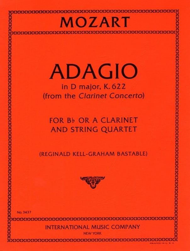 Adagio D major KV 622 - Clarinet String quartet - laflutedepan.com