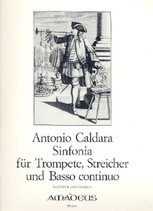 Sinfonia -Trompete Streicher BC - Partitur + Stimmen - laflutedepan.com