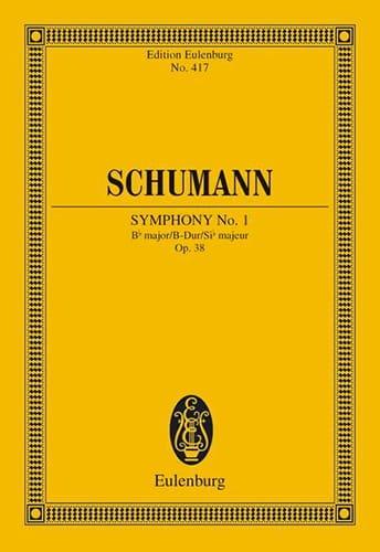 SCHUMANN - Sinfonie Nr. 1 B-Dur - Partition - di-arezzo.es