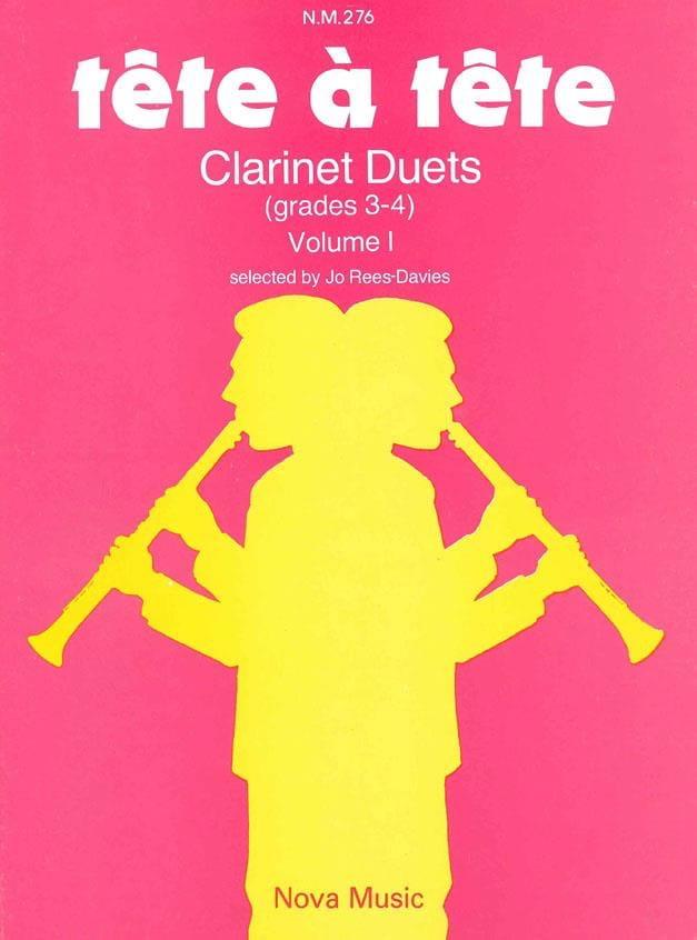 Tête à Tête - Volume 1 - Clarinet Duets - laflutedepan.com