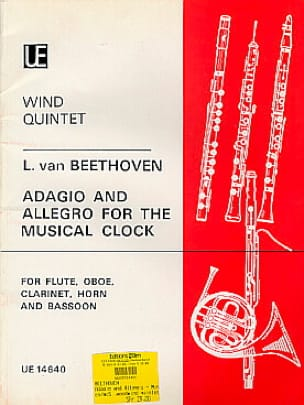 Adagio and Allegro for The Musical Clock - Wind quintet - laflutedepan.com