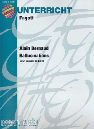 Hallucinations - Alain Bernaud - Partition - Basson - laflutedepan.com