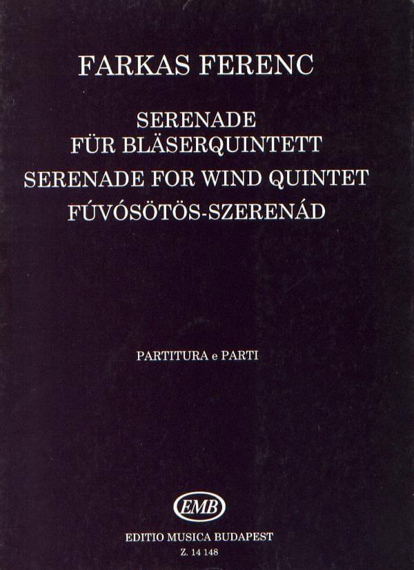 Serenade -Bläserquintett - Partitur + Stimmen - laflutedepan.com