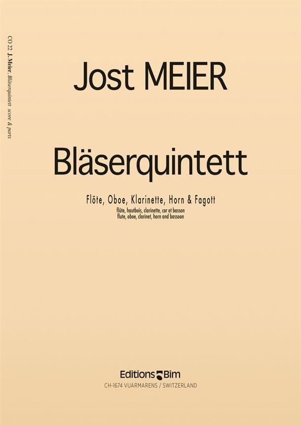 Bläserquintett 1967 - Partitur + Stimmen - laflutedepan.com
