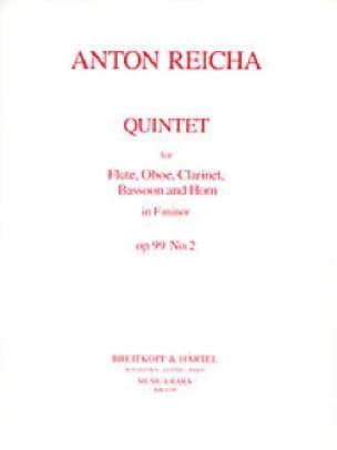 Quintet op. 99 n° 2 -Parts - REICHA - Partition - laflutedepan.com