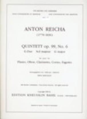 Bläserquintett op. 99 Nr. 6 G-Dur -Stimmen - laflutedepan.com