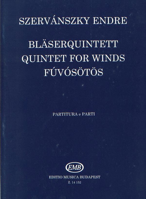 Bläserquintett -Partitur + Stimmen - laflutedepan.com