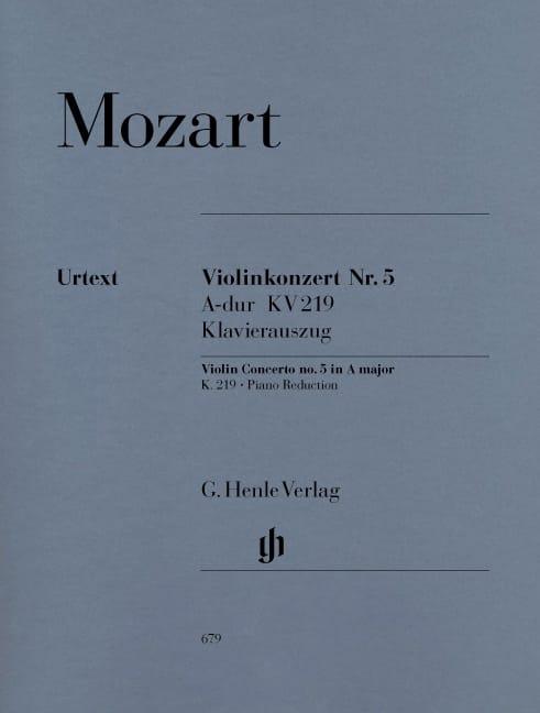 Concerto pour violon n° 5 en La majeur K. 219 - laflutedepan.com