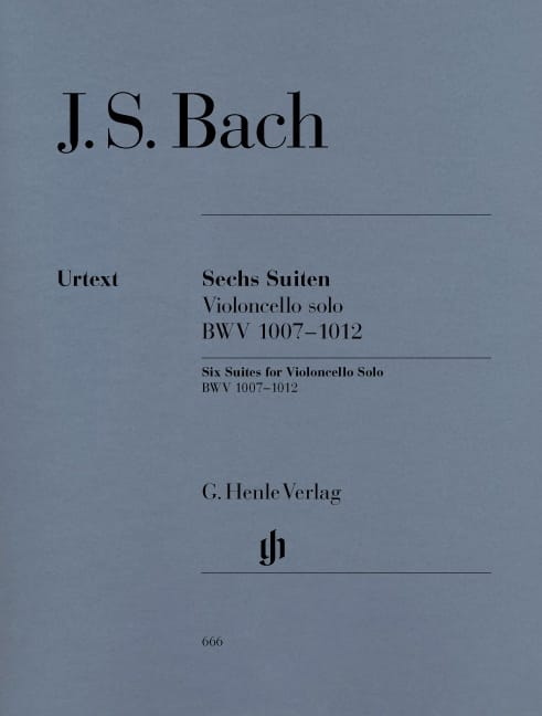 BACH - 6 Suiten BWV 1007-1012 - Violoncello Solo - Partition - di-arezzo.co.uk