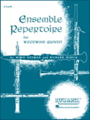 Ensemble Repertoire Score And Parts - Quintette A Vents - laflutedepan.com
