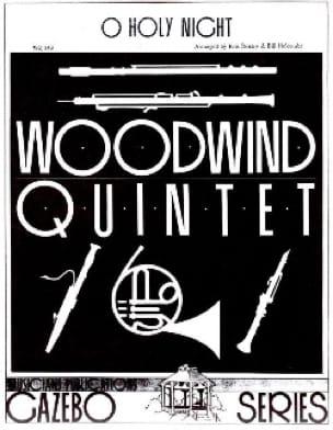 O Holy Night -Woodwind quintet - Partition - laflutedepan.com