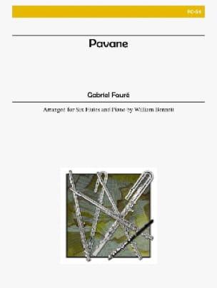 Pavane - 6 flutes piano - Score + parts - FAURÉ - laflutedepan.com