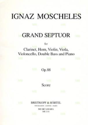 Grand Septuor, Op. 88 - Clarinette-Cor-Violon-Alto-Cello-Contrebasse-Piano - laflutedepan.com
