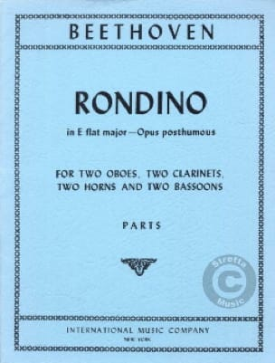 Rondino in E Flat major op. posth. - Parts - laflutedepan.com