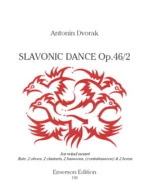 Danse Slave, Op. 46 N°2 - Nonette à Vents - DVORAK - laflutedepan.com
