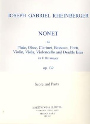 Nonet, Op. 139 - Quintette A Vents-Violon-Alto-Cello-Basse - laflutedepan.com