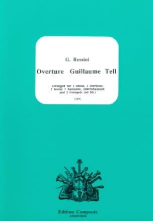 Ouverture Guillaume Tell - 11 Vents - laflutedepan.com