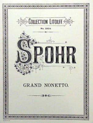 Grand Nonetto, Op. 31 - Quintette A Vents-Violon-Alto-Cello-Contrebasse - laflutedepan.com