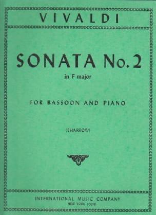Sonate n° 2 in F major RV 41 - VIVALDI - Partition - laflutedepan.com