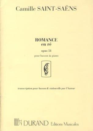 Camille Saint-Saëns - Romance en Re op. 51 - Partition - di-arezzo.es