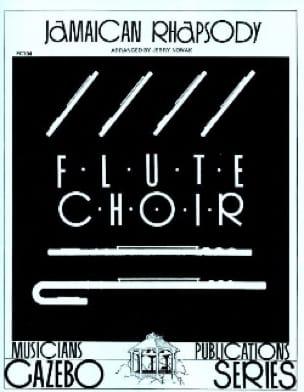Jamaïcan Rhapsody - Flute choir - Jerry Nowak - laflutedepan.com